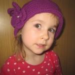 Sommerhut violett