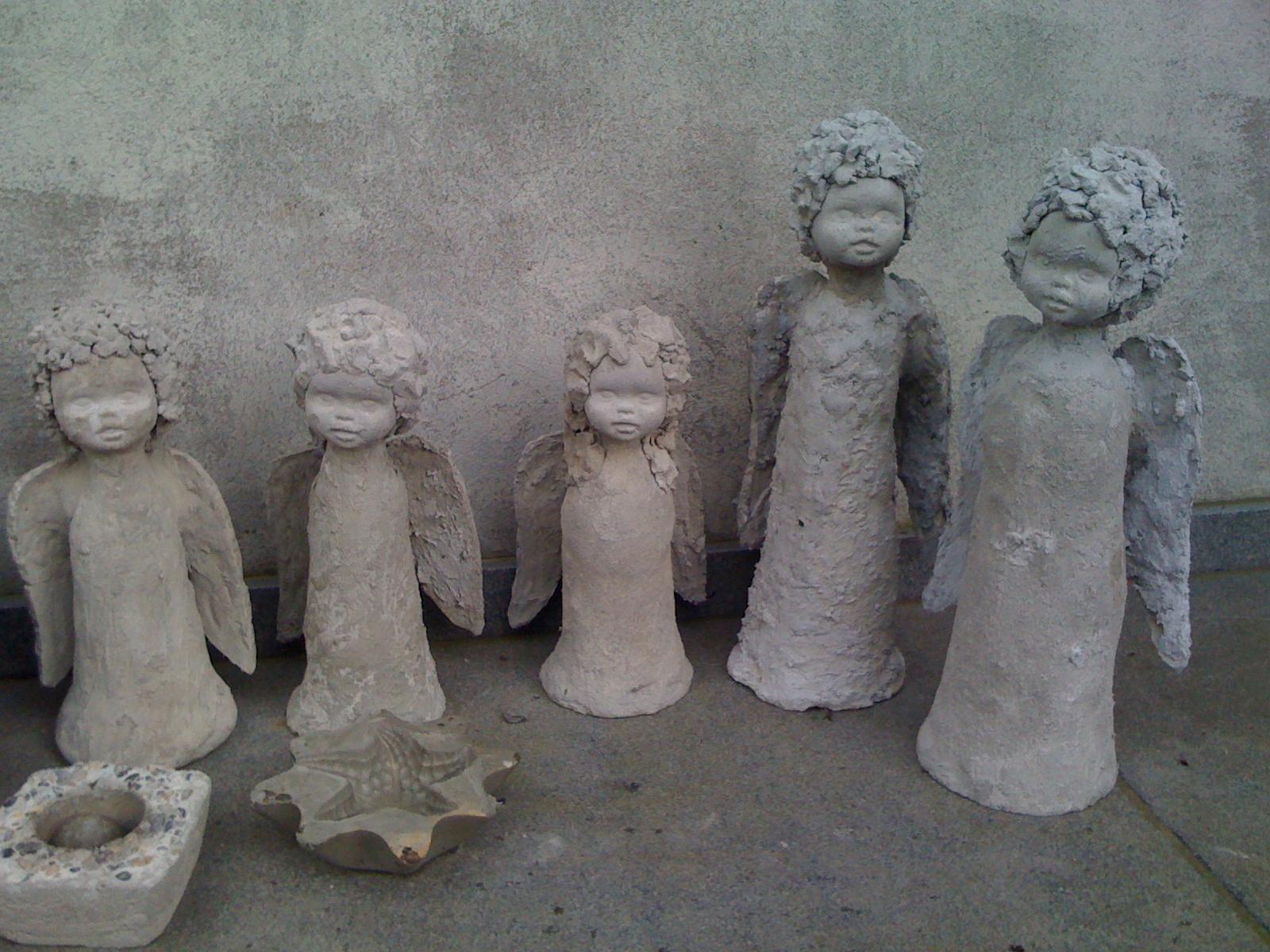 engel aus beton selber machen – msglocal, Garten ideen